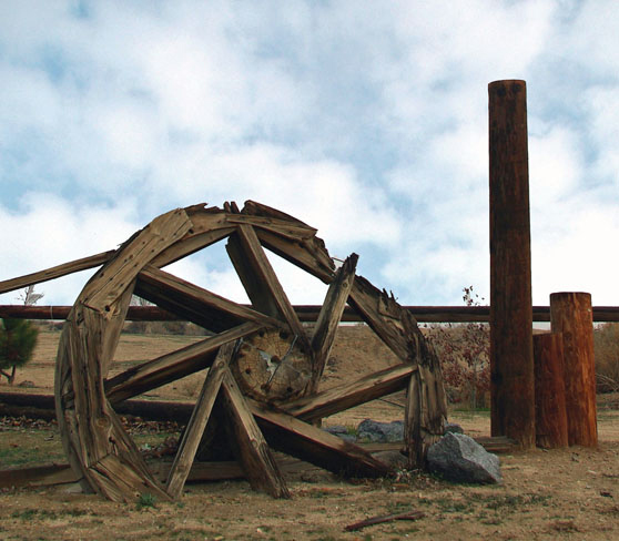 1-4 Bull Wheel With Clouds